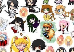 Personagens e animes Chibi e Super Deformed - chibi 14