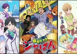 5 anime about bakery and confectionery - animespadaria 3