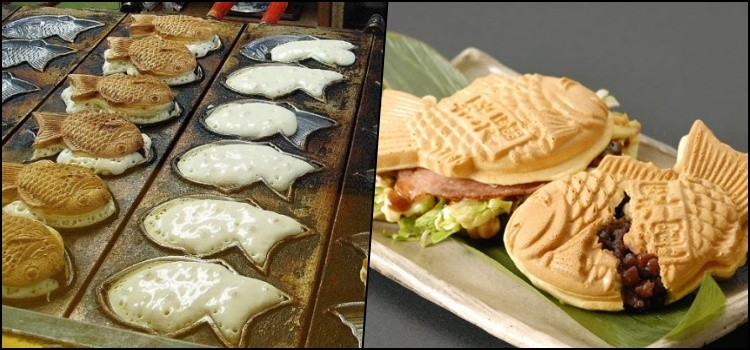 Taiyaki - the famous fish-shaped dumpling