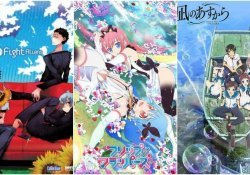Best anime with different styles, traits and art - nagi no asukara 5