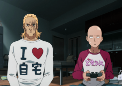 4 times that one punch man saitama was defeated!